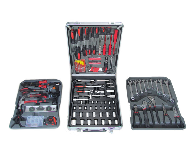 188pcs Force Tools Kits with Aluminum Case