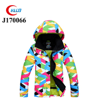 fashion 3 in 1 waterproof warm snowsuit ski jacket for women