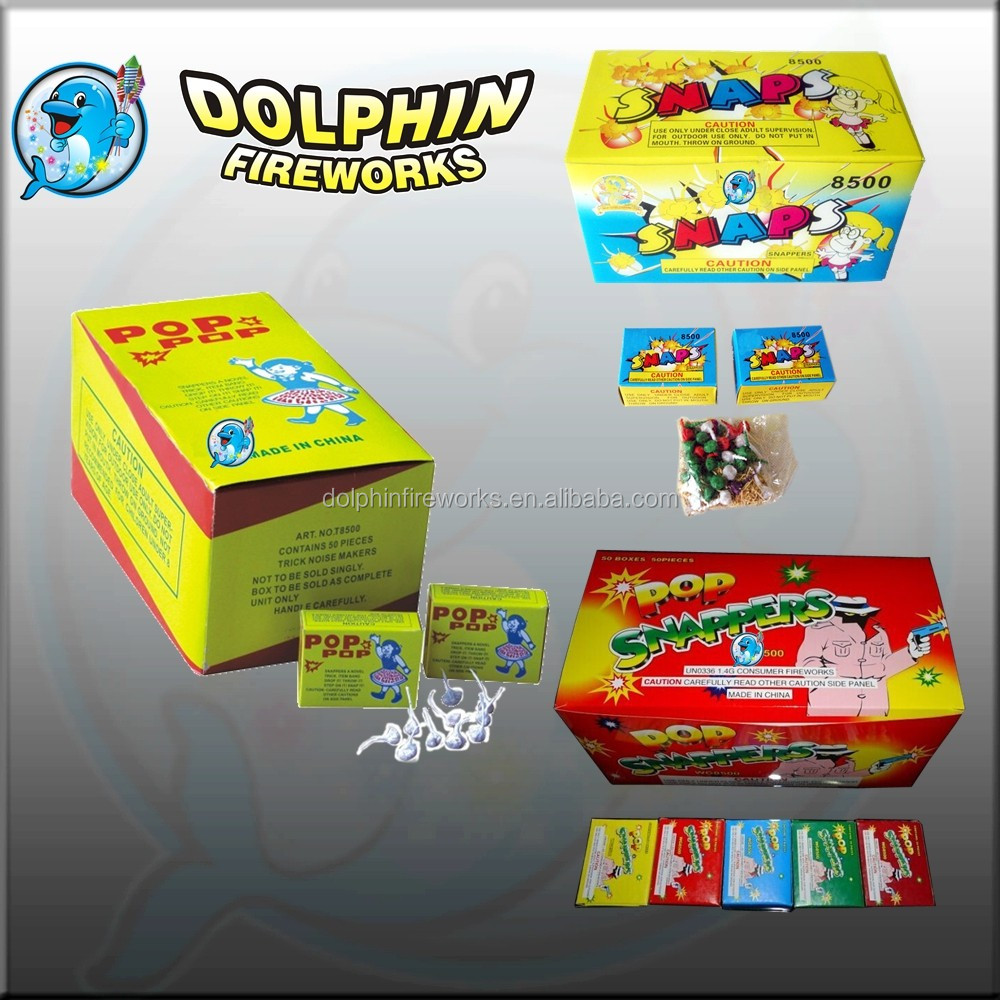 Dolphin fireworks pop pop snappers fireworks pili cracker