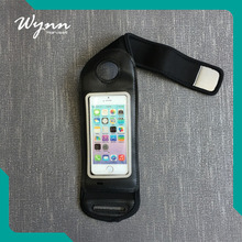 Comfortable and breathable phone accessories black armband cellphone