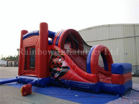 Best Sale High Quality Spiderman Cheap Outdoor Jumping Inflatable Bouncers Slide
