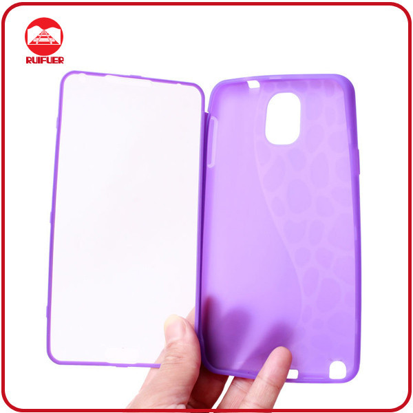 AAA Quality Full Body Touch Screen 2 in 1 Soft TPU Hybrid Case for Samsung Galaxy Note3 N9000