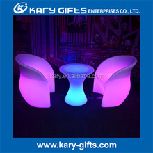 led glowing illuminated WATERPROOF TABLE TOP bar table