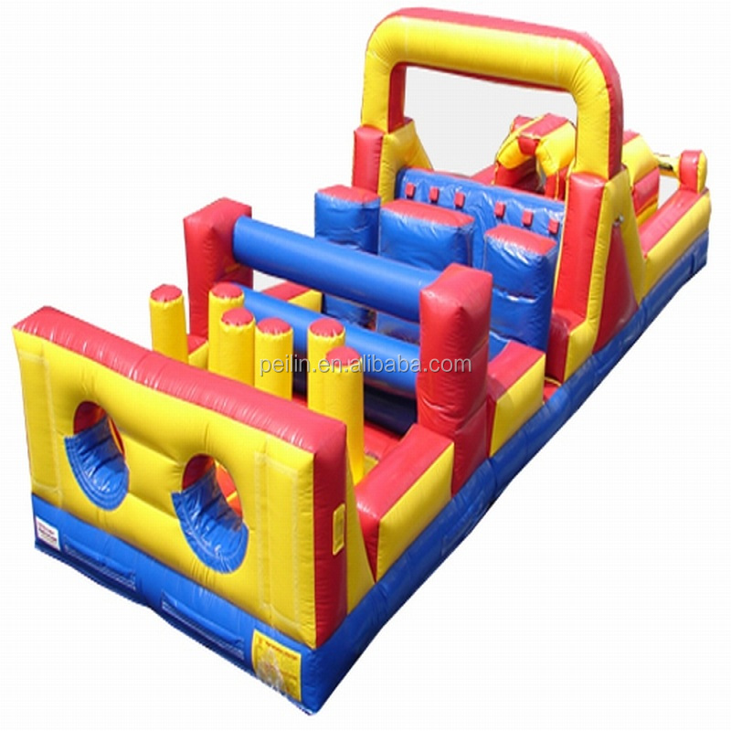 Giant Outdoor adult inflatable 5k obstacle course for sale