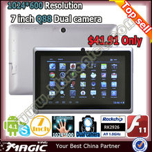 cheapest 7 inch tablet pc with high resolution 1024x600
