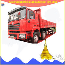China heavy truck supplier for Schman F3000 SX1316NR306 8*4 30tons cargo truck sale in iran