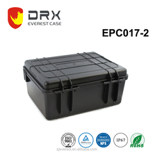 Plastic Hard Case Tool Equipment Case With Cutted Foam