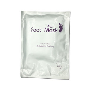 Foot mask exfoliate clay baby exfoliation
