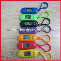 fashion digital keyring clock with Carabiner