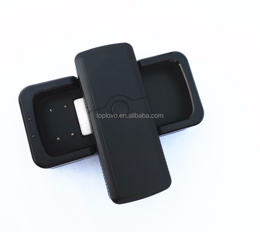 factory newest gps tracker TL007 with dock charger, mini spy device with auto track monitoring platform