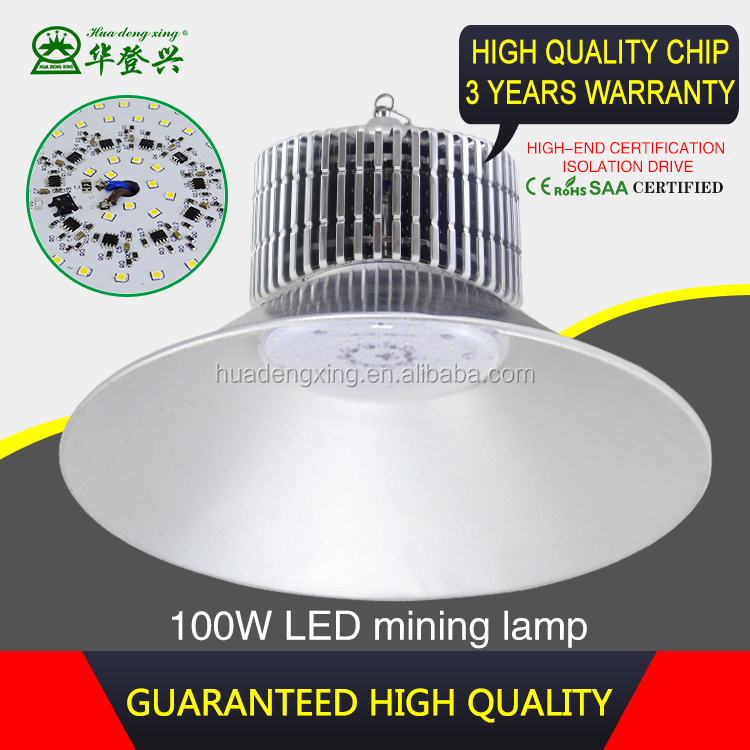 Good heat radiator aluminum lamp cover 150w led light high bay