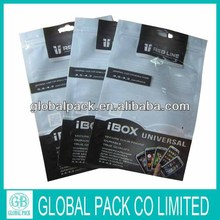 plastic bag for mobile phone/phone case plastic packaging bags