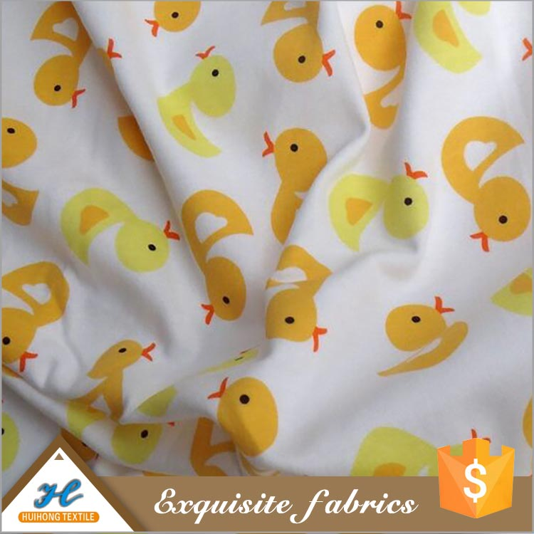 Huihong Soft handle Knitting elastic wholesale baby cotton interlock knit fabric