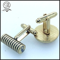 Cheap Fashionable Brass Customized Personalised Cufflinks