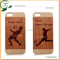 PC+ wood moblie phone case, hot selling cell phone accessory for iphone 5,customized design for 2014 world cup, wholesale