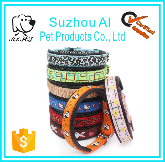 China Pet Collars Wholesale New Comfortable Soft Cartoon Style Dog Collar Nylon