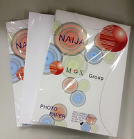 Hot Photo High Quality 260gsm A4 A3 size Glossy Photo Paper For Inkjet Printing