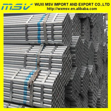 seamless pipe/tube for buildings materials,galvanized tube steel