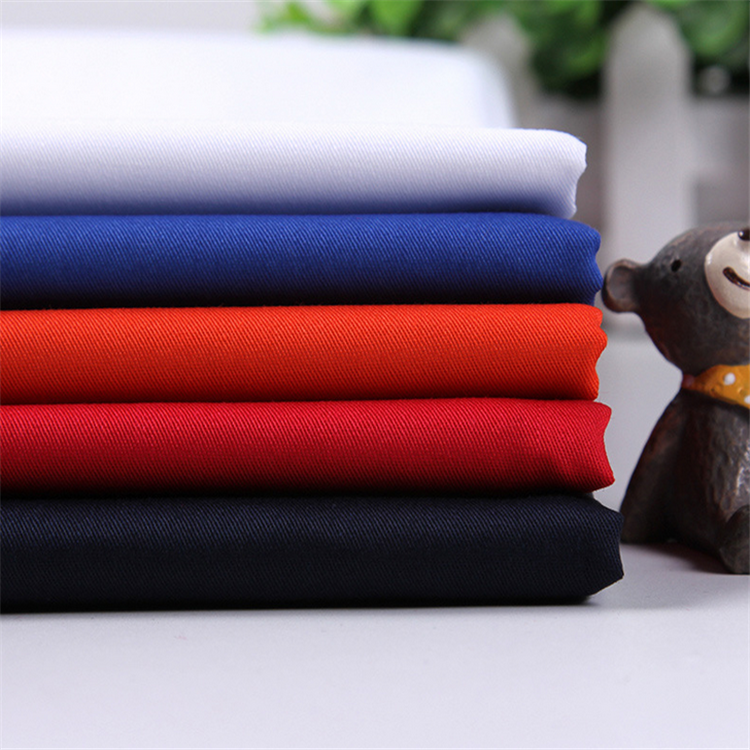 Twill woven 30% polyester 70% cotton fabric