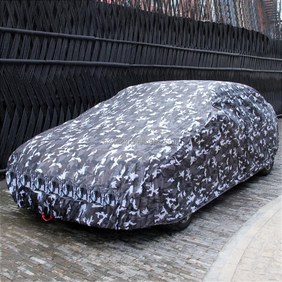 Eco-friendly Waterproof Car Portable Cover, Military Cover