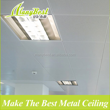 10 Years Aluminum types of false ceiling boards for commercial Building