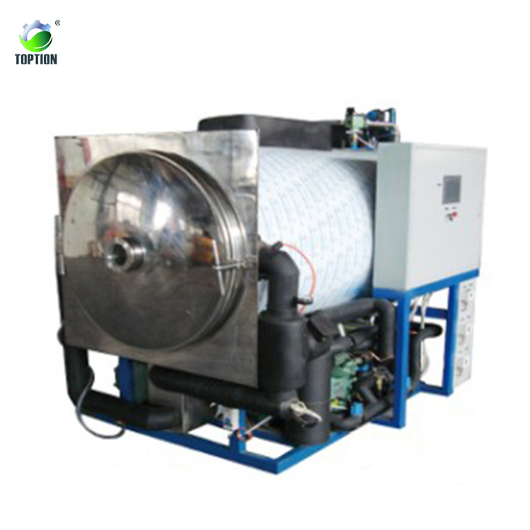 Toption 450kg capacity industrial freeze dryer / used vacuum freeze drying equipment / industrial lyophilizer