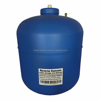 6.0G Ro system plastic water pressure tank