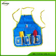 Kids Small Hand Tools Set with Apron, Mini Tools Set for Children