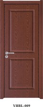 Flame retardant pvc wood main door High quality and good price