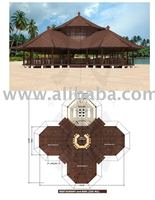R-Octagon Resto 235 Wooden house