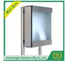 SMB-073SS New Design Letterbox Outdoor Standing Mailbox With One Stand