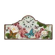cheap price Home decor antique clock wall sticker art painting clock