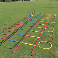 soccer training ladder speed agility ladder SGC2522 three colors