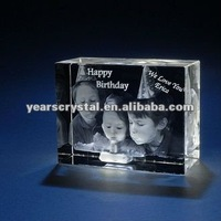 Arrival 3d laser photoes crystal (R-1396)