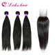 alley express straight curly raw wholesale virgin unprocessed malaysian hair with closure bundle