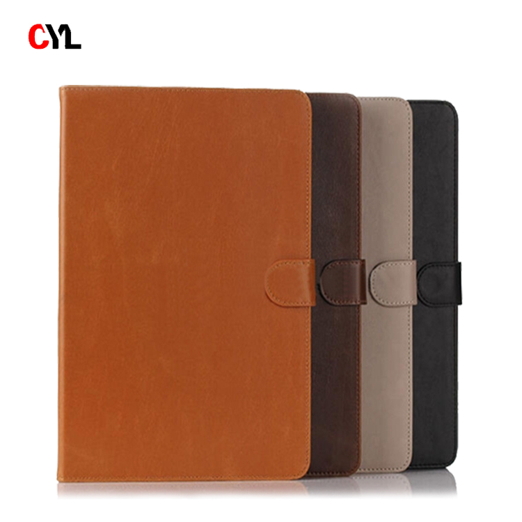 Slim flip PU leather case for ipad air 2