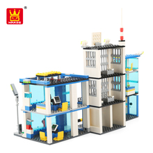 police theme block toys set with high quality