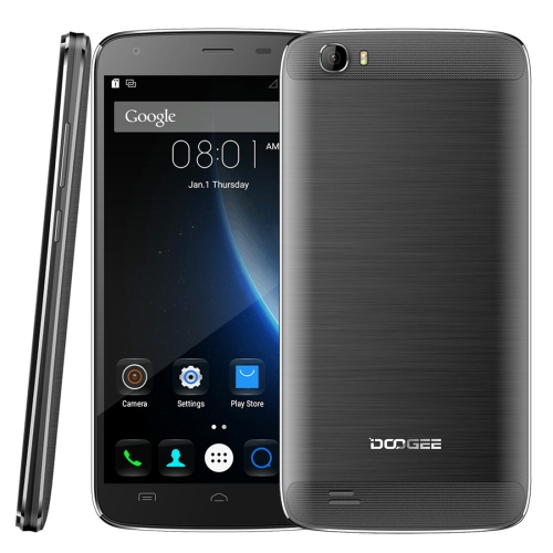 Low Price Chinese free Sample Original DOOGEE T6 Pro 6250mAh Big Battery 5.5 inch Android 6.0 4G RAM Mobile Phone Unlocked