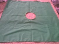 hospital bedsheeting green fabrics