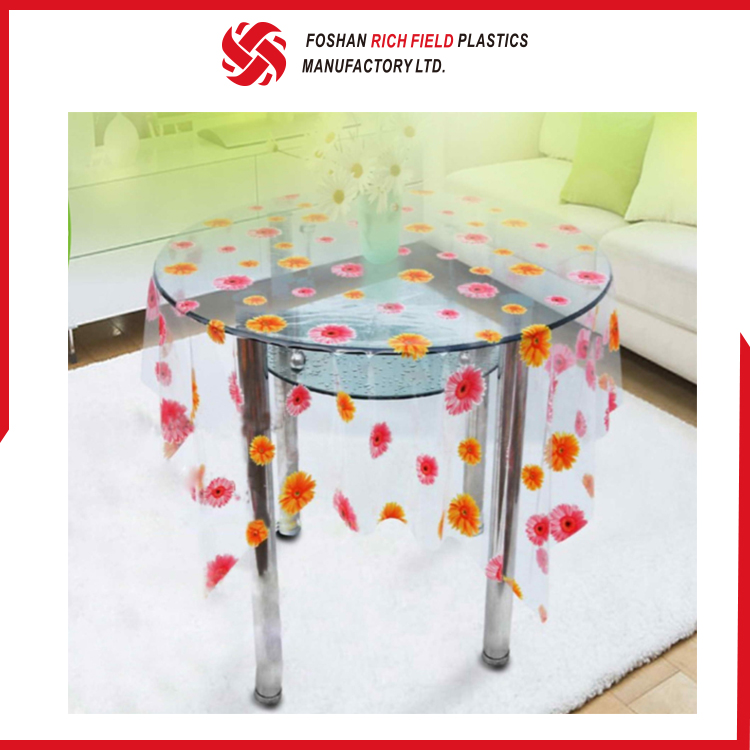 Accept Custom Order Cheap PVC Clear Office Table Cover