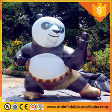 Giant inflatable panda and bear costume mascot