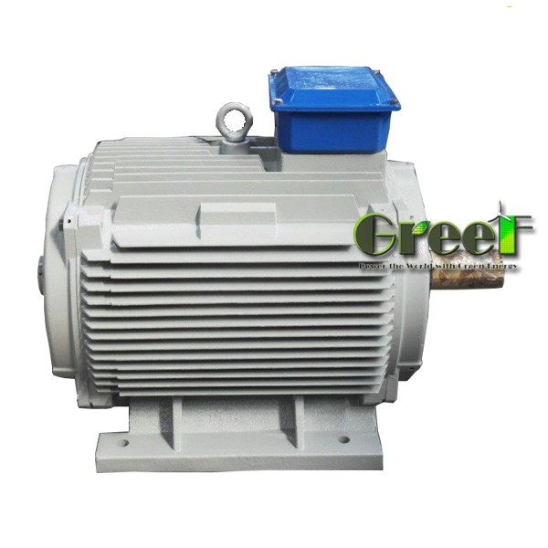 150W 30rpm low rpm wind power PM generator , 3 phase synchronous direct drive alternator