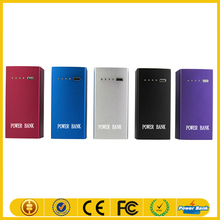 8000mAh mobile charger Rechargeable backup battery,Silm design portable powerbank