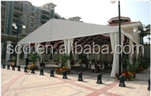 2014 hot sale Sturdy tents can be decorated party tent curtains for square or plaza