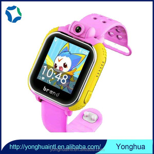 Professional 3G smart kids gps tracker watch with Two megapixels camera