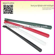 wholesale 60cm hotel long handled colored elbow plastic shoe horn HA01305