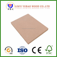 Best prices 1220x2440mm Veries Thickness decorative Plain MDF Board for furniture