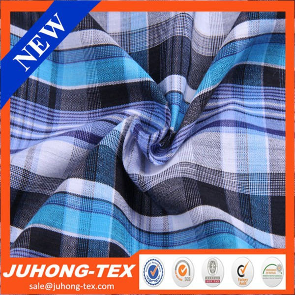 Great material 100%cotton check fabric school uniform