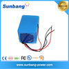 Customized 18650 li-ion battery pack 24v 20ah 6s10p sealed electric wheelchair/golf car battery