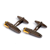 New Arrival Pen Style Fun Cufflink for Men Copper cuff links